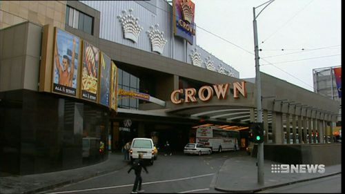 The 54-year-old stole the goods to pay back debts he amounted at Crown Casino.