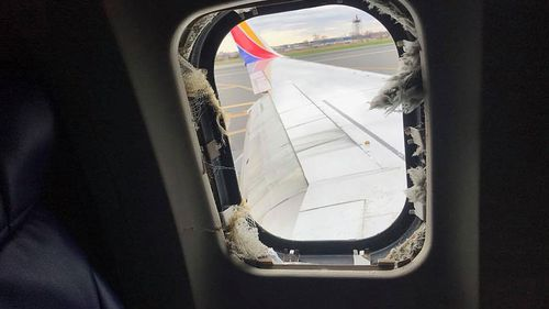 US officials said Jennifer Riordan of Albuquerque, New Mexico, died after she was partially sucked out of the window after the plane was hit by engine debris.
