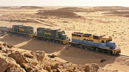 World's most extreme railway in Sahara Desert