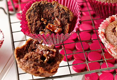 Turkish delight muffins