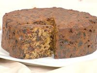 Celebration fruit cake