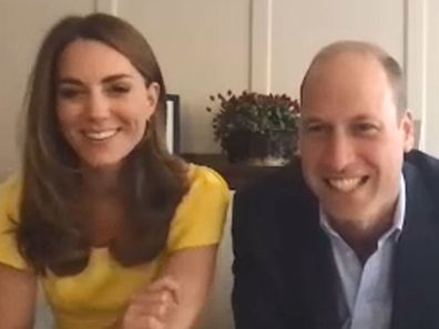 The Duke and Duchess of Cambridge, Kate Middleton and Prince William, chat to locals from Kangaroo Island about the impacts from Australia's bushfires earlier this year