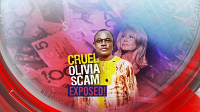 Cruel Olivia Newton-John scam