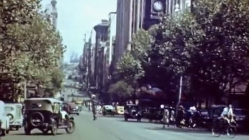MELBOURNE: The CBD before the skyscrapers shot up