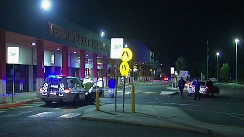The carpark where the shooting is understood to have occurred. (9NEWS)