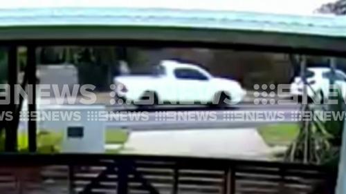 Darwin Shooting CCTV with ute