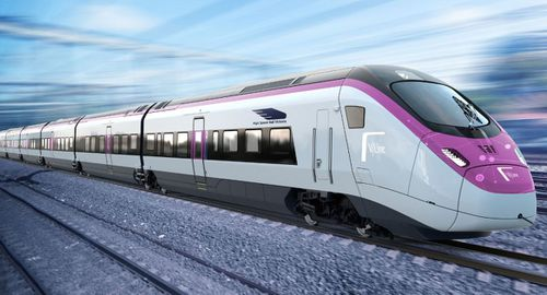 The new trains would travel up to 200km/h.