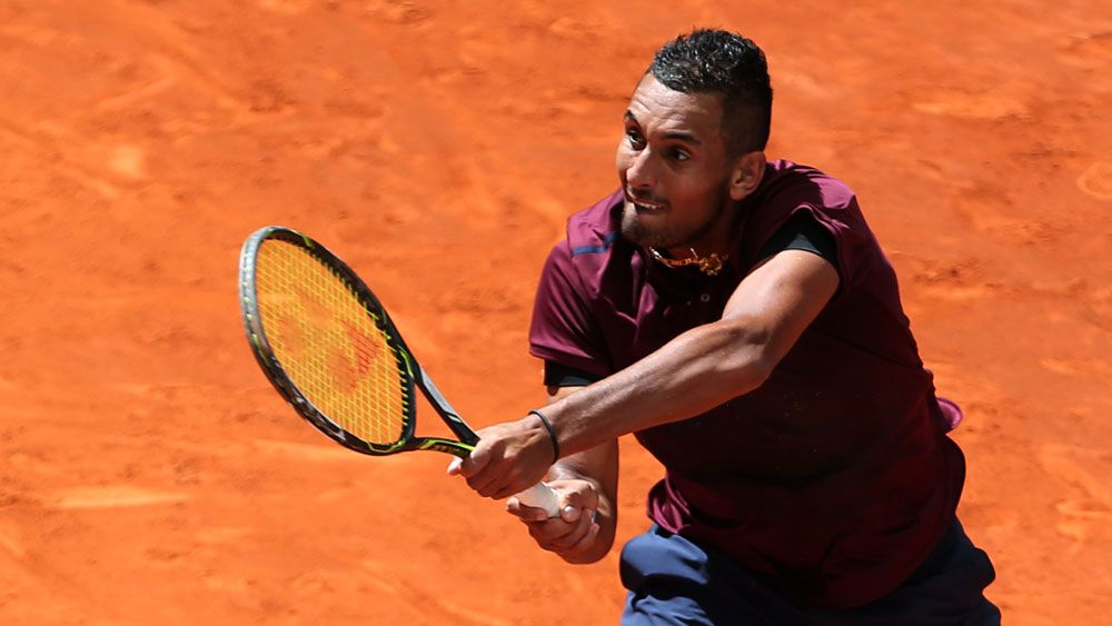 Nick Kyrgios. (AFP)