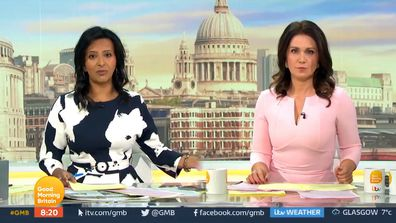 Susanna Reid is joined by Ranvir Singh on Good Morning Britain the day after Piers Morgan quit the show