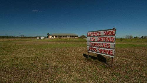 Williamtown residents are angry with the government.