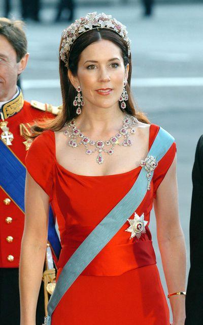 Crown Princess Mary's Ruby tiara