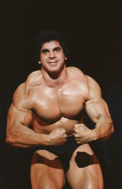 <strong>Lou Ferrigno then...</strong>
