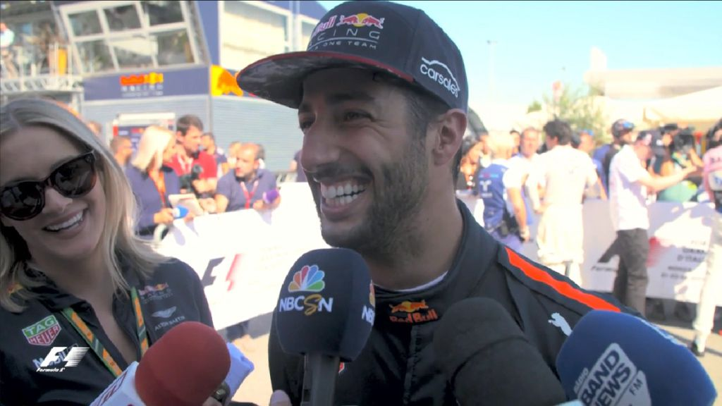 Ricciardo happy with fast finish