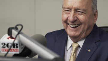 End of an era as Alan Jones hosts radio show for final time