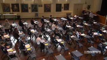 Year 12 students complete first ever online exam