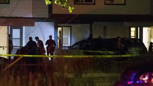 The stabbing occurred at an apartment complex in Boise.