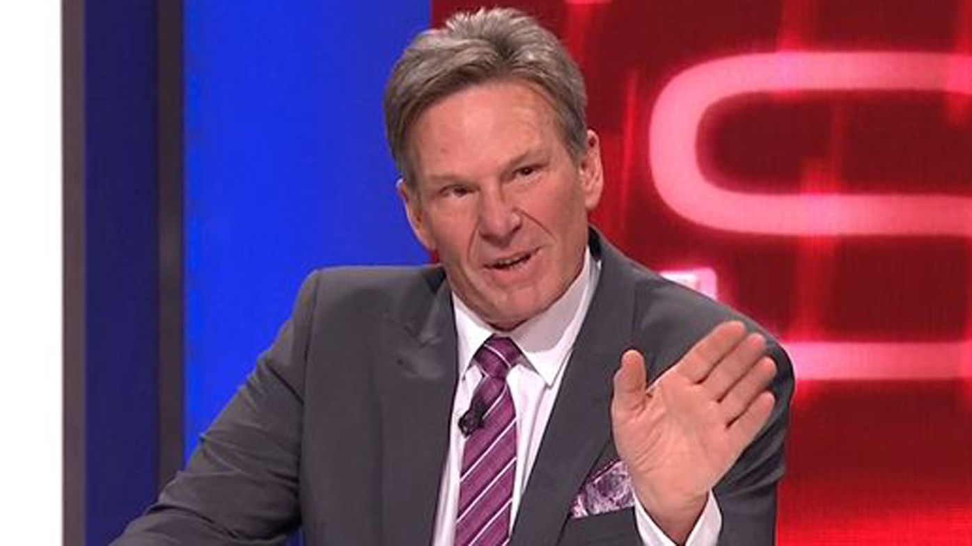 AFL Footy Show Sam Newman injured during US trip to the Masters