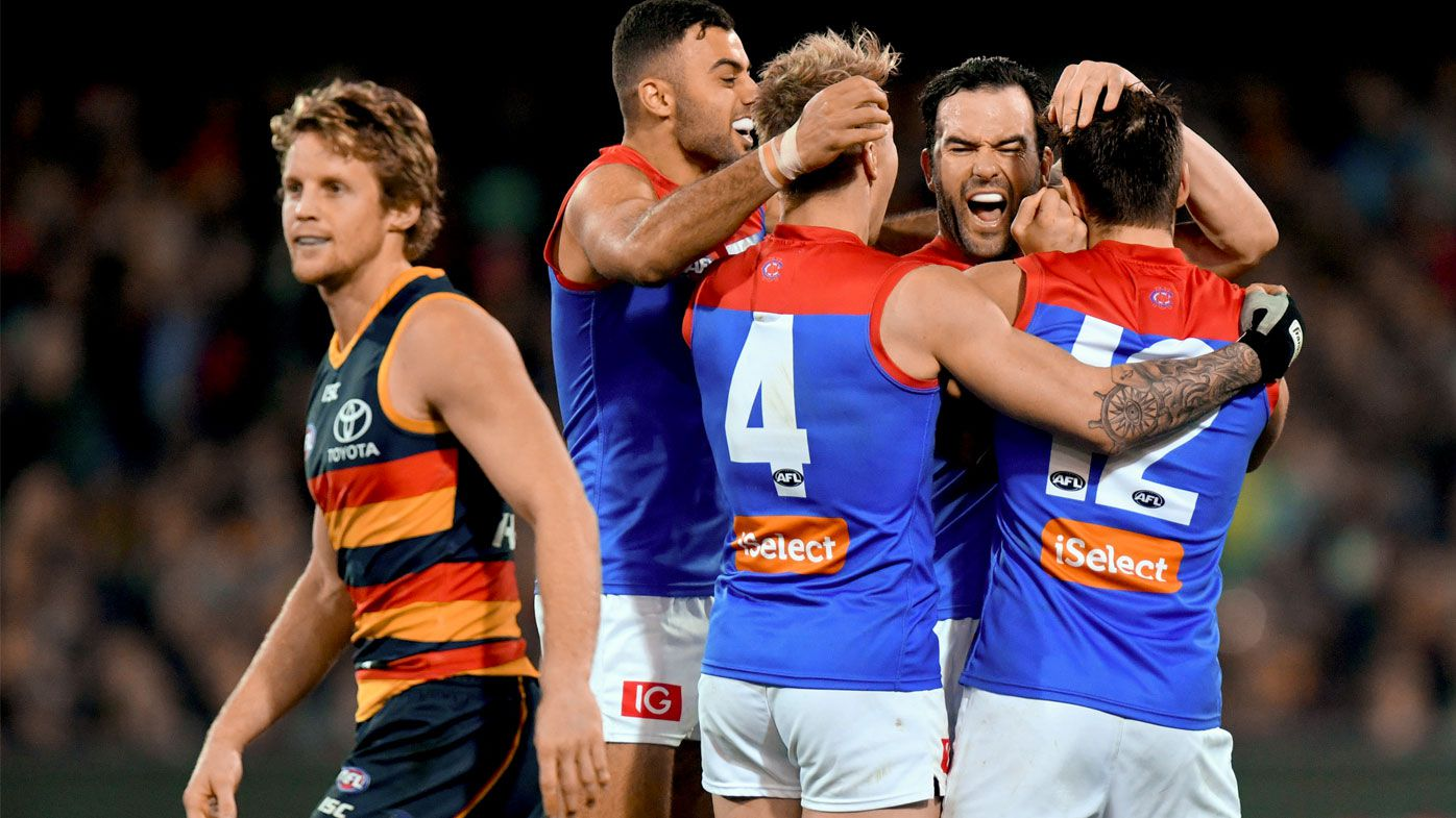 Melbourne down Crows in AFL crunch match