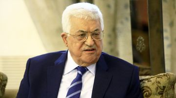 """The office of Palestinian leader Mahmud Abbas said Palestinians are ready for a peace initiative offering a """"comprehensive and fair solution"""". (AFP)"""