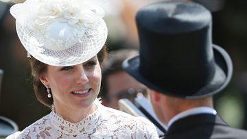 Britain's Catherine, Duchess of Cambridge (L) and Britain's Prince William, Duke of Cambridge. (AFP)