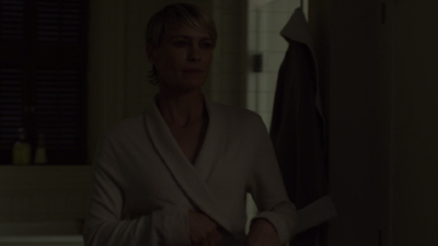<p>In season two Claire Underwood shows she will go to any lengths to support her husband's political ambitions.</p>