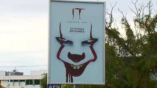 Parents say horror movie 'IT Chapter Two' posters are terrifying their kids