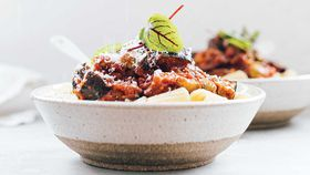 Thick and saucy veg bolognese