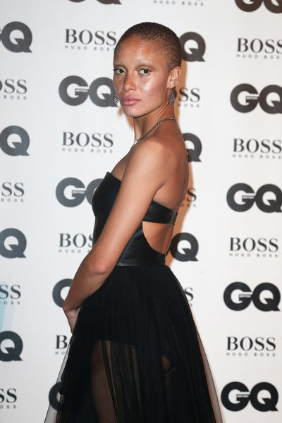 Adwoa Aboah at the British GQ Men of the Year Awards