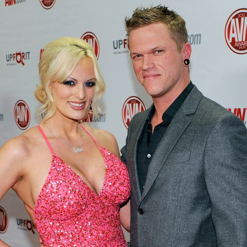 Glendon Crain has filed for divorce from porn star Stormy Daniels. Picture: Supplied