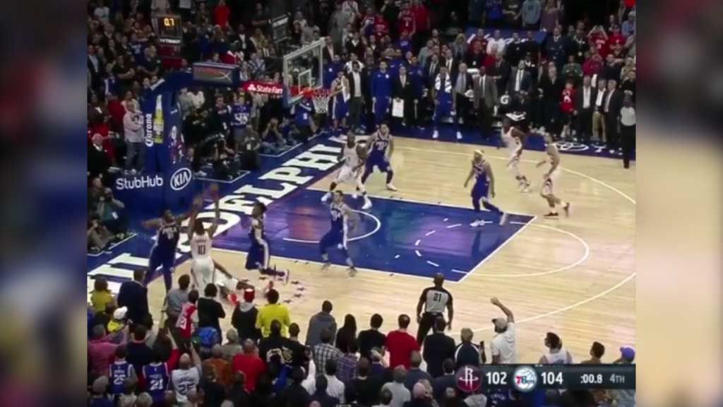 Simmons' 76ers beaten at the buzzer