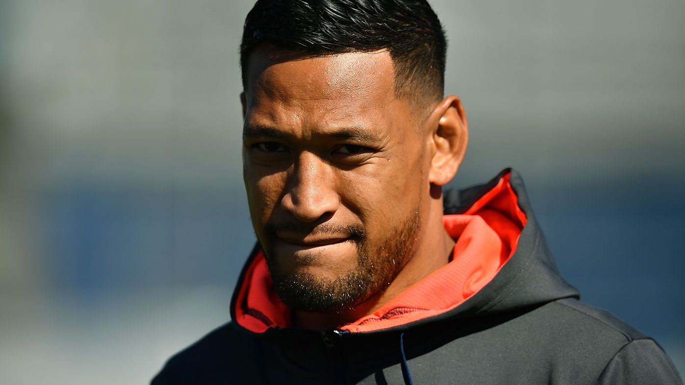 Former Wallabies teammates left baffled by Israel Folau's social media outburst