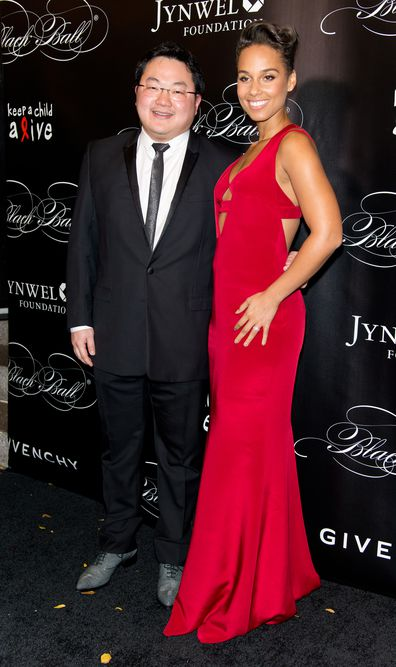 Jho Low and Alicia Keys