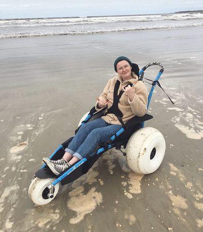 Beth Goodier has a rare neurological disease