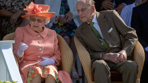 The Queen and Prince Philip didn't attend the christening. Picture: AAP