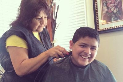 @starringrico: Pre-Emmy hair cut