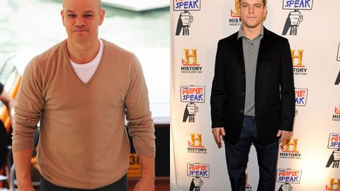 Matt Damon is chubbing up