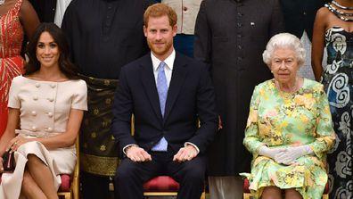 Meghan Harry Queen Elizabeth