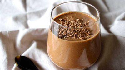 <strong>Kk&auml;o Co. cacao tahini vegan thickshake</strong>