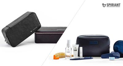 First Class Amenity Kit, Europe - SPIRIANT for Lufthansa