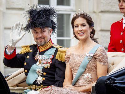 Prince Mary and Prince Frederik