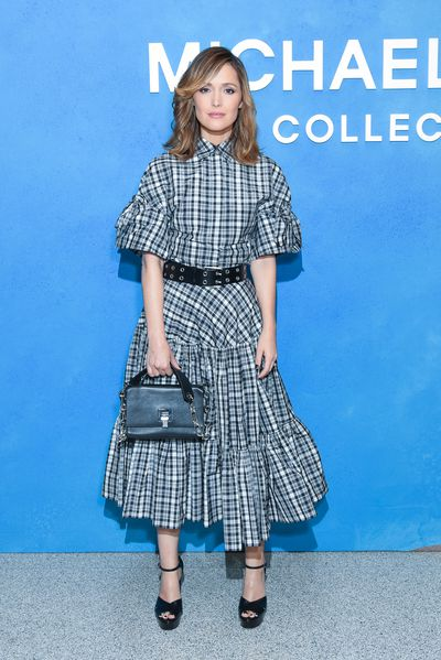 Aussie actress Rose Byrne at the Michael Kors Spring 2019 show for New York Fashion Week, September 12, 2018