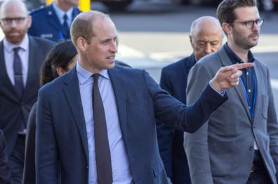 Prince William was asked about the arrival of Baby Sussex.