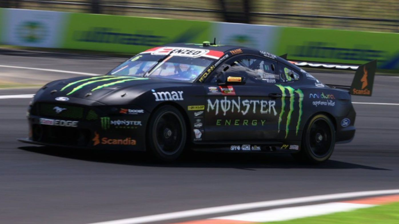 Cam Waters takes pole position at Bathurst. (Twitter)