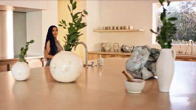 Kim Kardashian West Gives Rare Home Tour Of 85m Minimal Monastery With No Doors