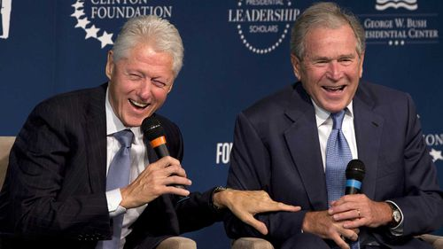 Former presidents Bill Clinton and George W Bush tried to make lasting deals with North Korea. (AAP)