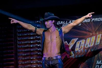 Yep, Matthew McConaughey's the only man who makes chaps sexy.