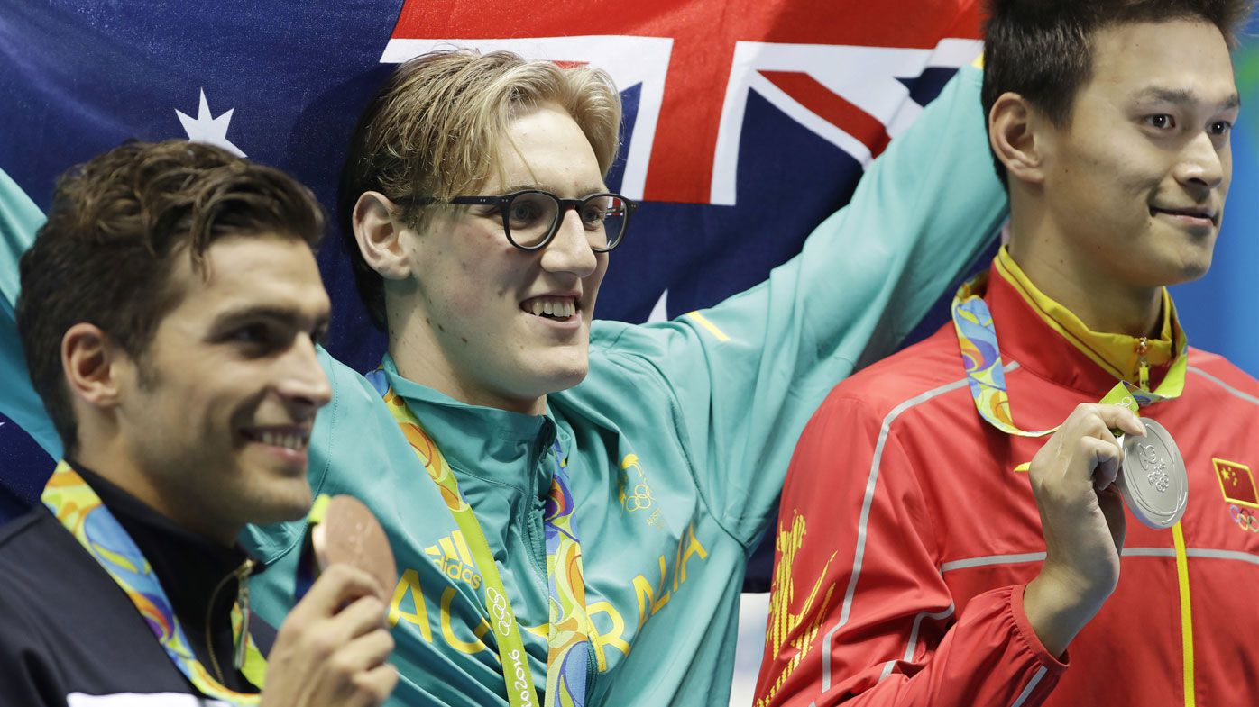 Mack Horton vs Sun Yang: Aussie says swimming's credibility on line in drug furore
