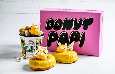Donut Papi to launch the sweetest 'bee' doughnut for two weeks only