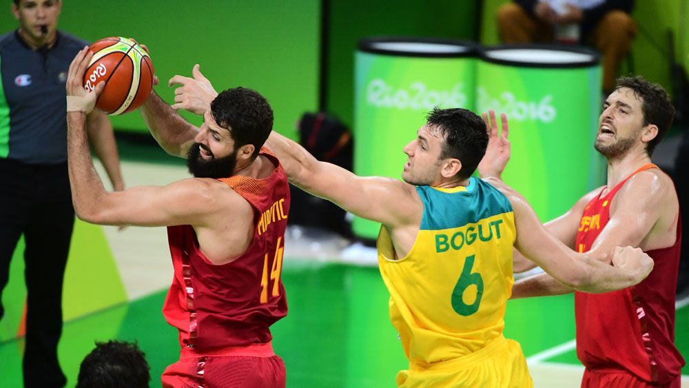 Bogut hits out at refereeing in Rio