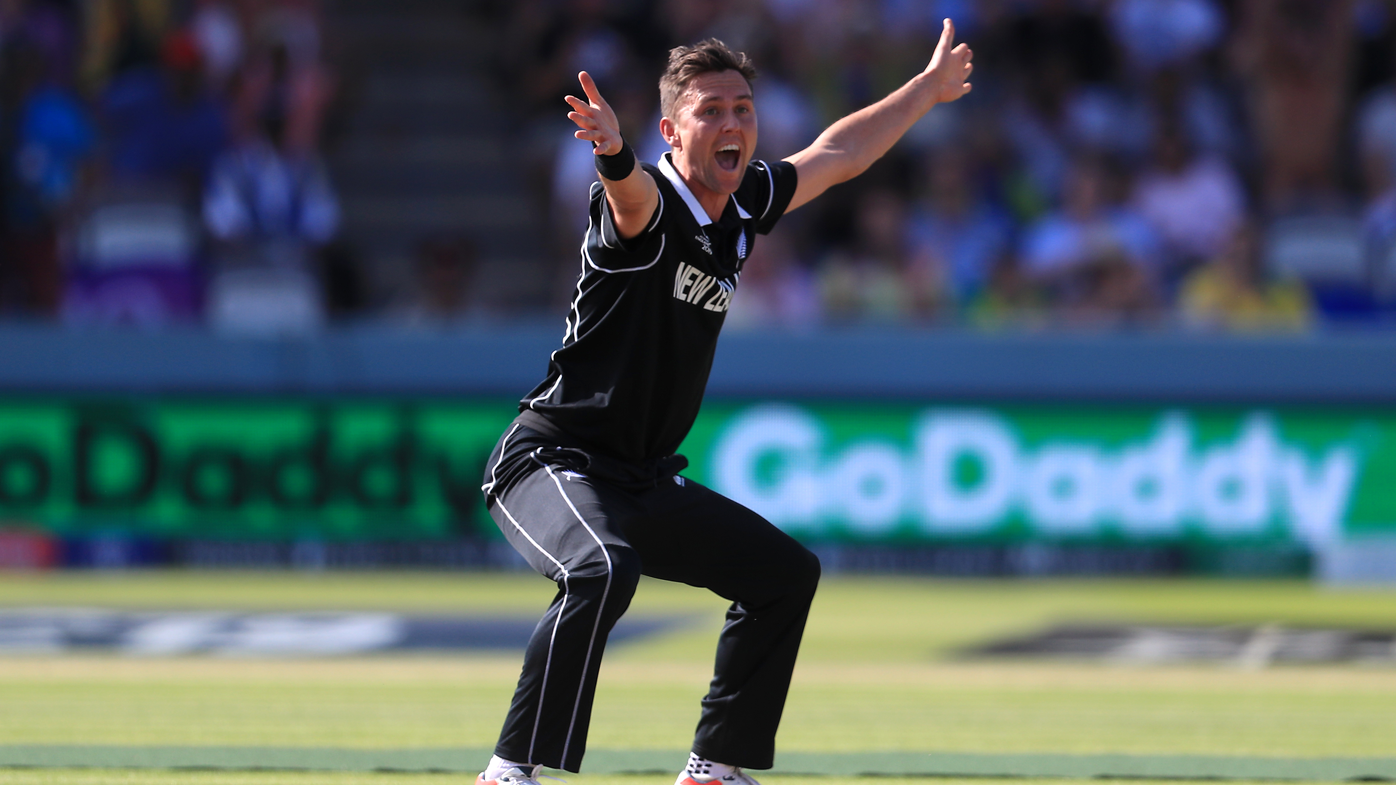 Trent Boult snares World Cup hat-trick against Australia at Lord's